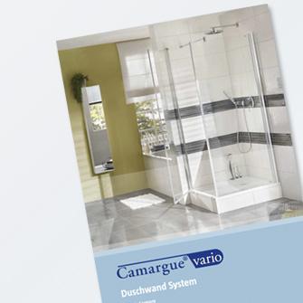 Camargue vario duschwandsystem